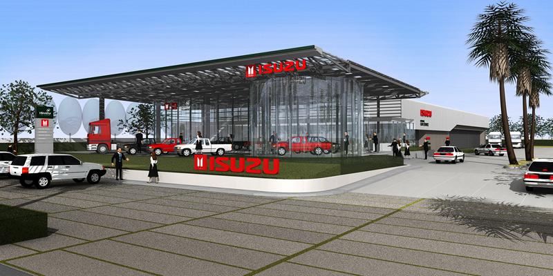 Honda & Isuzu Showroom   Cambodia – Quatre Architect